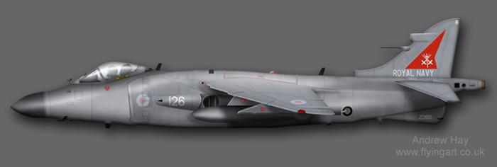 Sea Harrier FA.2 ZD610 800 NAS